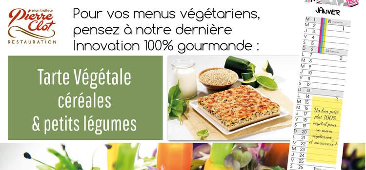 Une innovation pour vos menus végétariens...