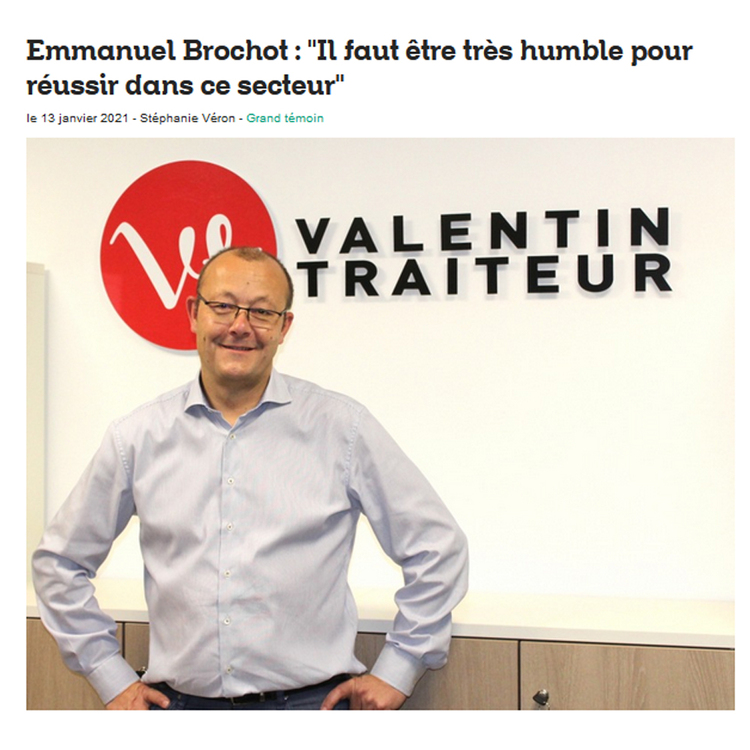 Article dans l'Essor sur Emmanuel Brochot