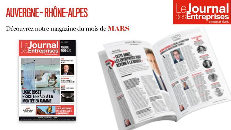 Le journal des Entreprises Mars 2020