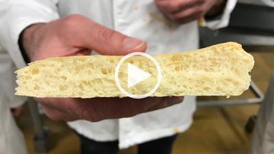 Lien video fabrication focaccia