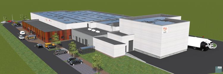 Construction d'une nouvelle unité à Rives (38)