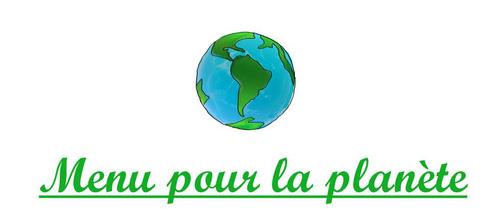Menu Pour La Planete