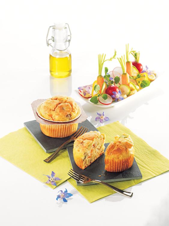 Nouveauté du printemps 2017 : le muffin salé.