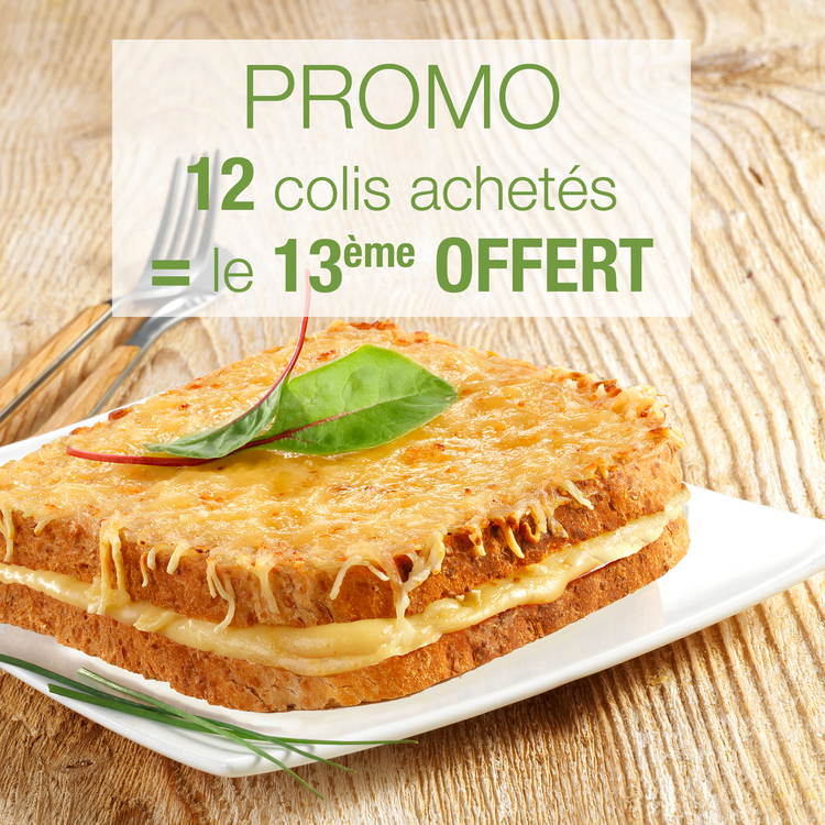 CROQUES FROMAGE : 12 + 1 OFFERT !