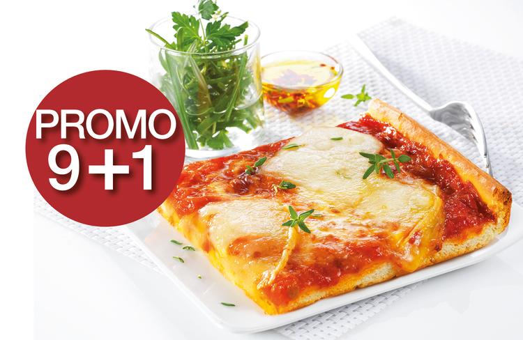 Fév - mars 2020 : la pizza Comté Beaufort AOP - Promo 9+1