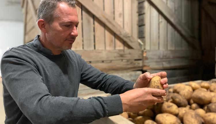 Création de notre 1ère filière pour l'approvisionnement des pommes de terre