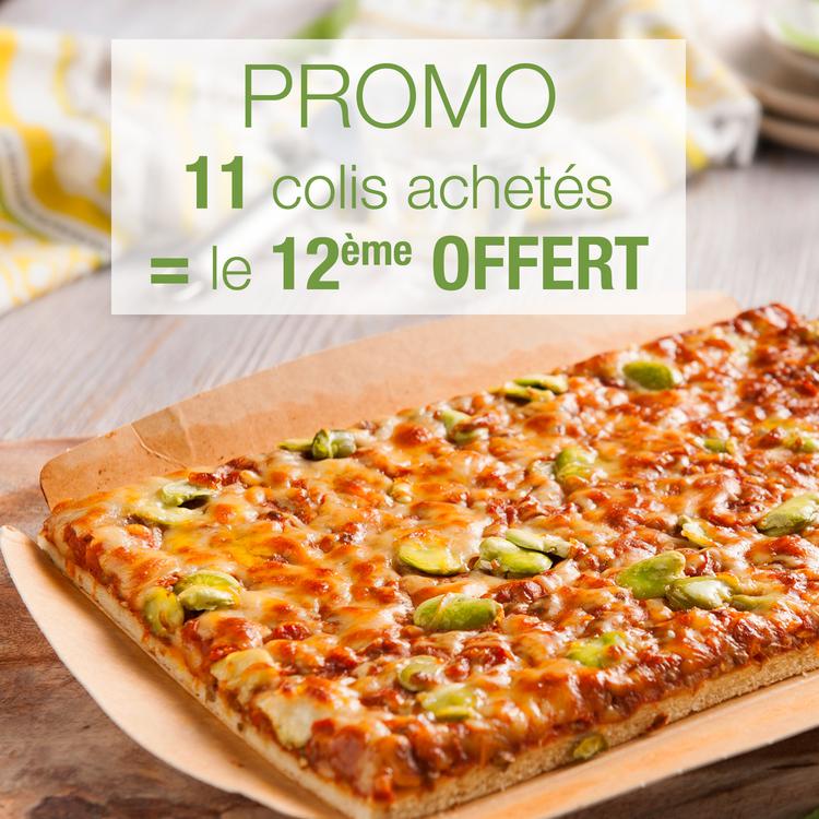 PIZZA BOLO' VÉGÉTALE : 11 + 1 OFFERT !
