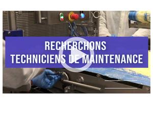 Recrutement Technicien Maintenance
