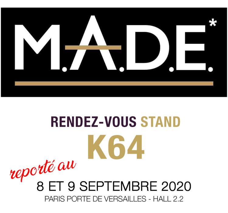 Participation au salon M.A.D.E à Paris