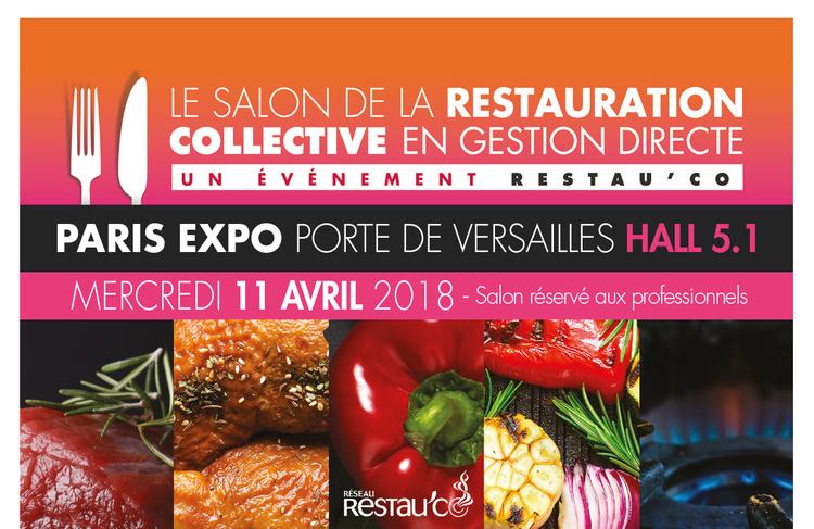 Salon Restau'Co à Paris : mercredi 11 avril
