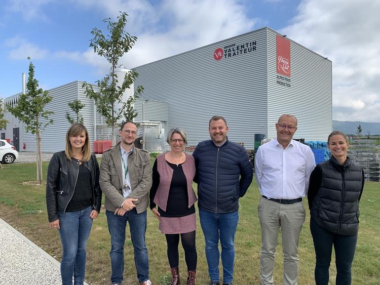 Visite de M. le maire de Rives, M. Julien STEVANT et son équipe mercredi 22 septembre