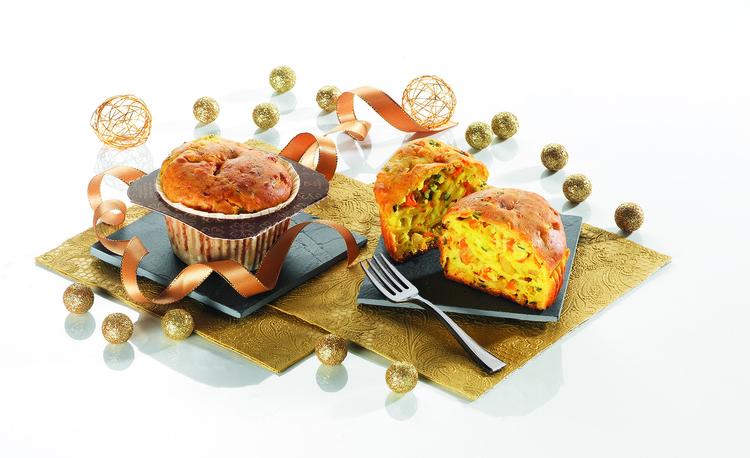 Le Muffin salé se pare de saveurs festives