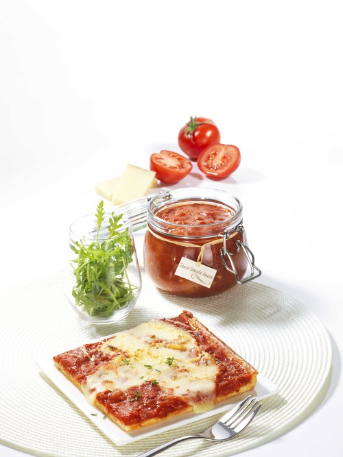Pizza Fromage Sauce Tomate Douce