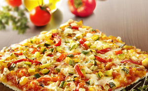 Pizza légumes