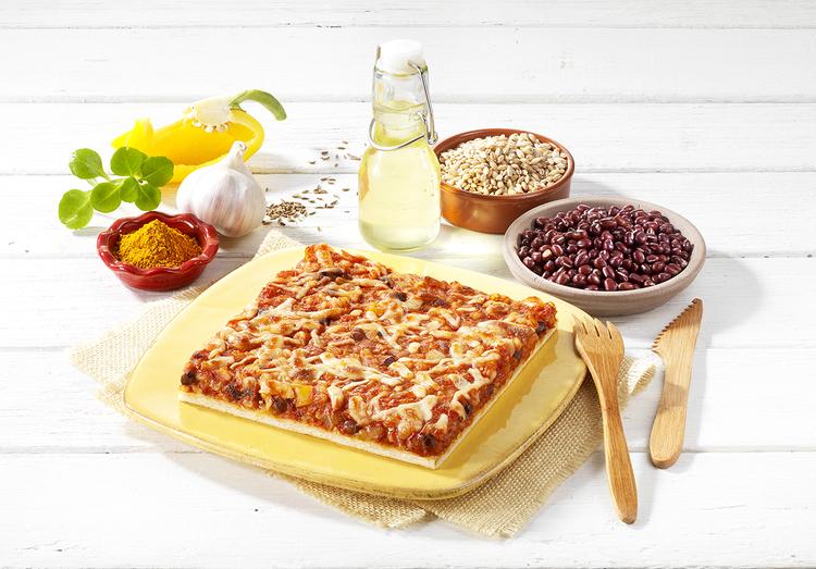 Janvier 2020 : la pizza TEX MEX végétale