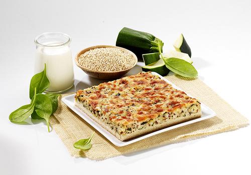 Tarte Végétale céréales et petits légumes