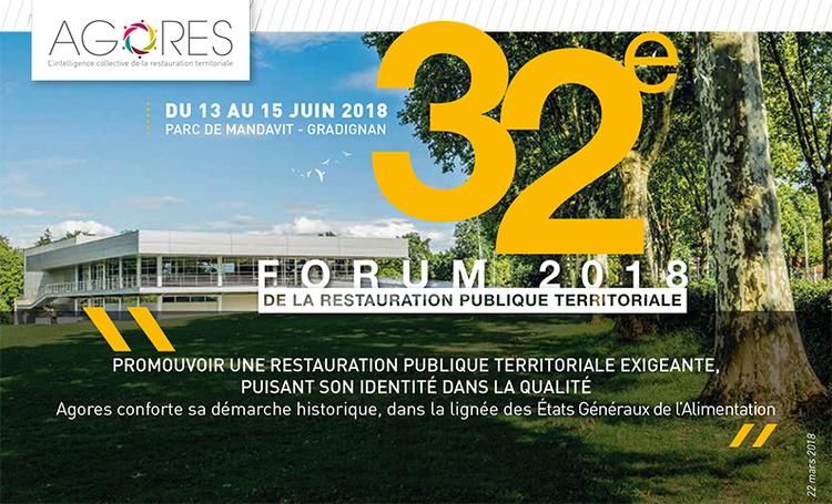 Salon AGORES à Gradignan : du 13 au 15 juin 2018